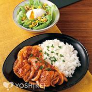 鶏肉の完熟トマトのソース
