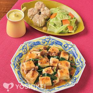 ソースでラクラク♪麻婆豆腐