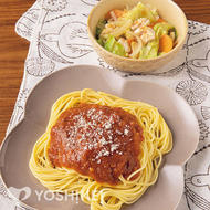 簡単!ミートソーススパゲティ