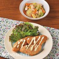 フライパンで簡単!白身魚フライ