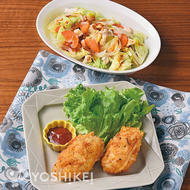 フライパンで白身魚のポテト衣焼き~チーズ風味~