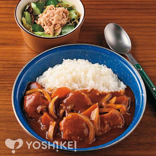 チキンハヤシライス/ツナサラダ