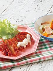 チキン南蛮/ベーコンとかぼちゃの洋風煮