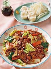 回鍋肉/エビシューマイ