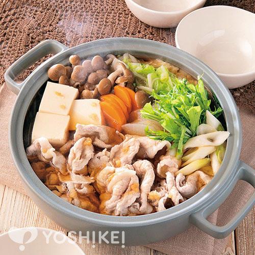 ぽかぽか豚生姜鍋