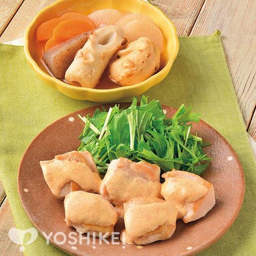 明太チキン/あっさりおでん風煮