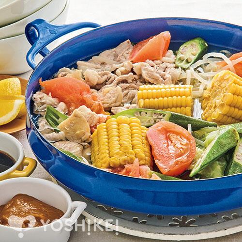 2種のたれで楽しむ夏野菜鍋