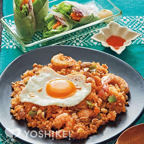 ナシゴレン/カラフル野菜の生春巻