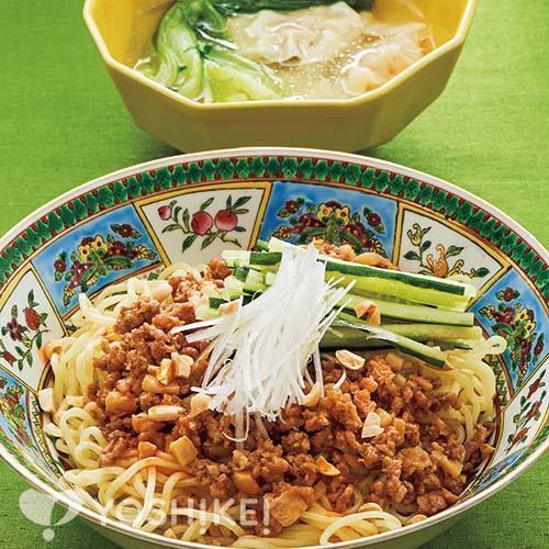 ジャージャー麺/ワンタンスープ