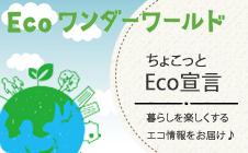 下部小バナー ecoワンダーワールド