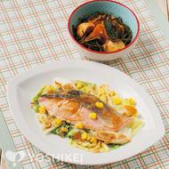 冬野菜と鮭のちゃんちゃん蒸し