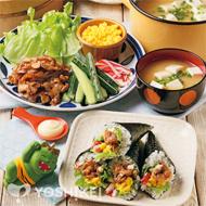 節分焼き肉手巻き寿司