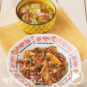 豚肉の青椒風(チンジャオフウ)