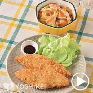 サクサク衣の白身魚フライ