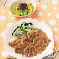 豚肉のすりおろし生姜焼き(ビストロ)