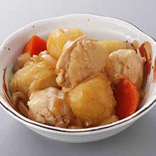 鶏肉とじゃが芋の煮もの