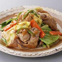 豚肉とキャベツの和風炒め
