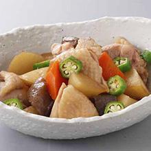 鶏肉と大根の煮もの
