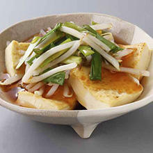 豆腐の野菜あん