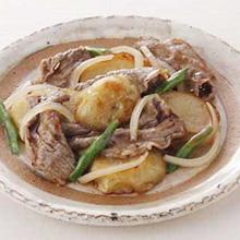 牛肉ポテト