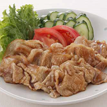 豚ロースの焼き肉