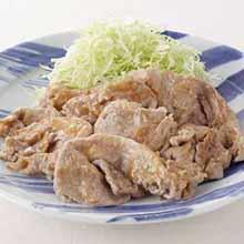 豚肉のみそマヨ焼き