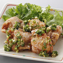 鶏肉の薬味じょうゆ