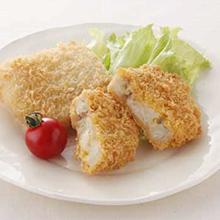 白身魚フライ&牛肉コロッケ