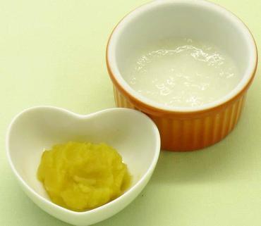 さつま芋のピューレ・おかゆ