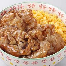 豚肉の照り焼き丼