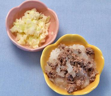 牛丼・ポテトサラダ