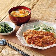 豚ロースのやわらか生姜焼き