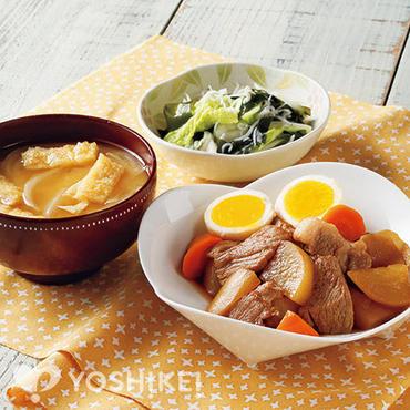 豚肉と卵の角煮風