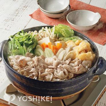<大阪の味>豚肉と水菜のはりはり鍋