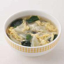 かき玉ワンタンスープ