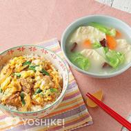 中華風親子丼