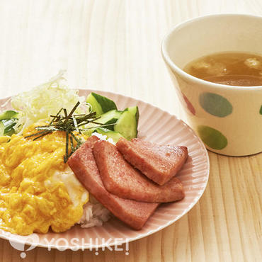 スパムと卵の炒めご飯