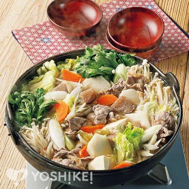 芋煮風ちゃんこ鍋