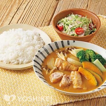 <北海道>くるくるお肉のスープカレー