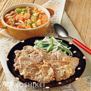 豚肉のマヨ生姜焼き