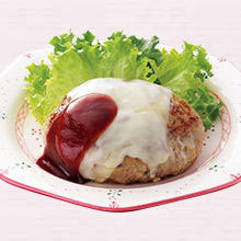チーズハンバーグ