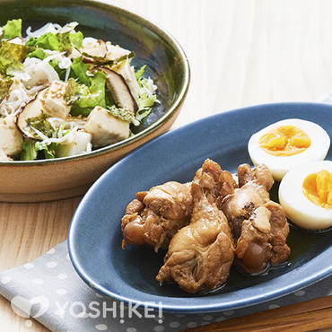 鶏肉の手羽元煮