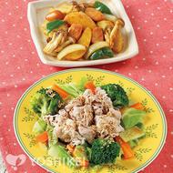 温野菜豚しゃぶ