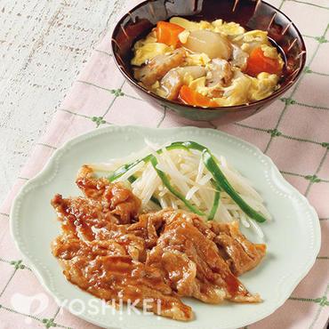 豚肉のはちみつ生姜焼き