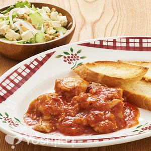 鶏肉のトマトソース煮