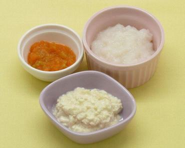 つぶし豆腐・白菜と人参のやわらか煮・おかゆ
