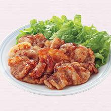 豚肉の梅風味焼き