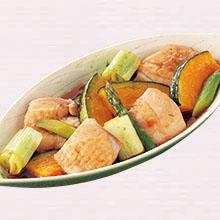 鶏肉と野菜の焼き浸し