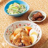 鶏手羽元と卵のさっぱり煮