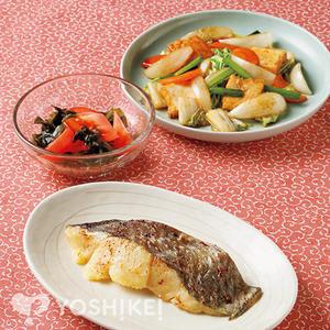 白身魚の麹味噌漬焼き